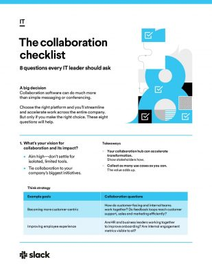 Evaluating Collaboration Software