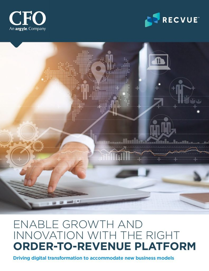 Enable Growth And Innovation With The Right  Order-To-Revenue Platform Driving Digital Transformation To Accommodate New Business Models