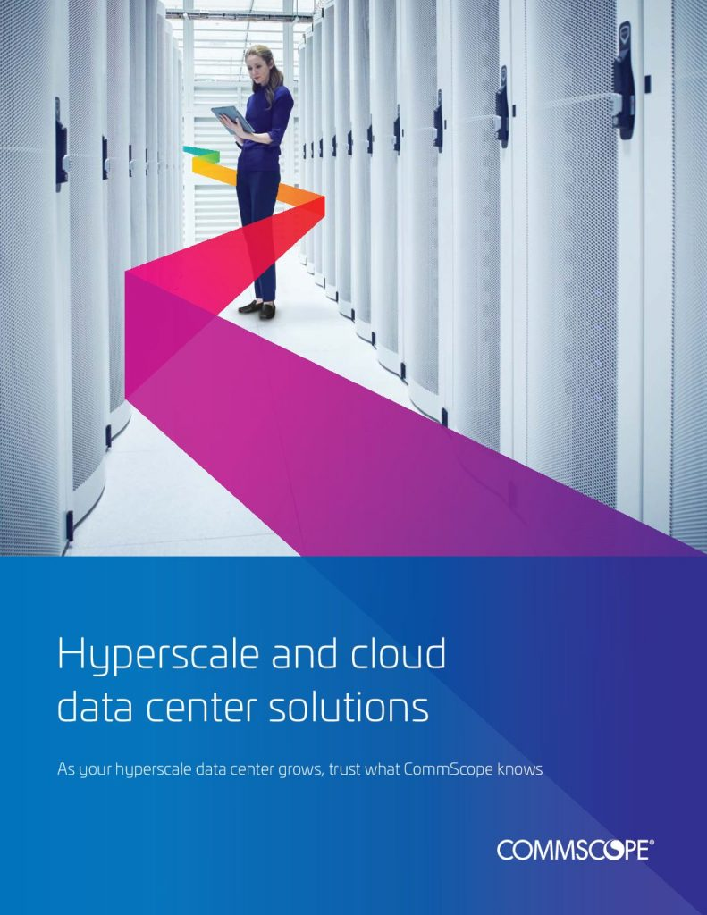 Hyperscale and cloud data center solutions