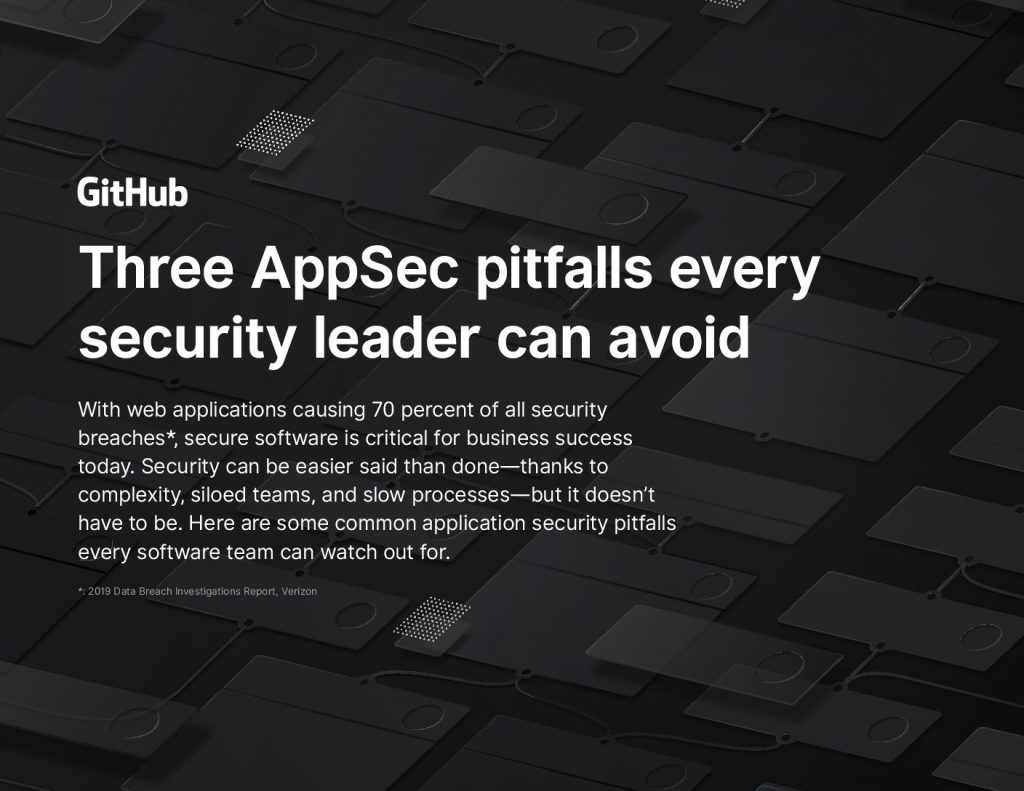 Three AppSec pitfalls every security leader can avoid