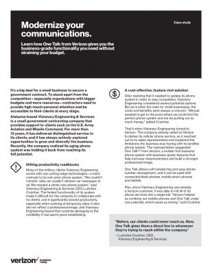 Modernize Your Communications