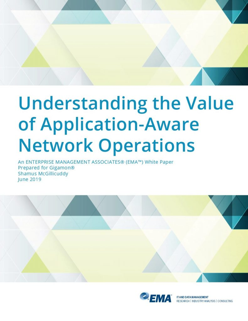 EMA: Understanding the Value of Application Aware Network Operations