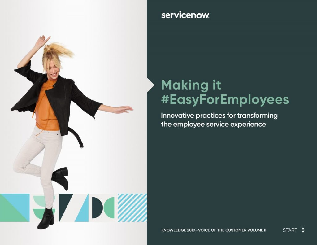 Voice Of Customer – Innovative Practices For Transforming The Employee Service Experience