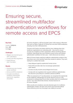 Ensuring the Secure, Streamlined Multifactor Authentication