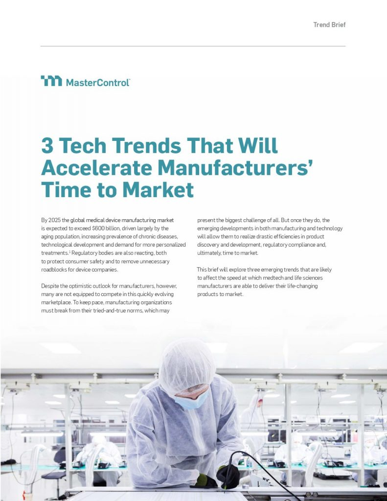 3 Tech Trends That Will Accelerate Manufacturers' Time to Market