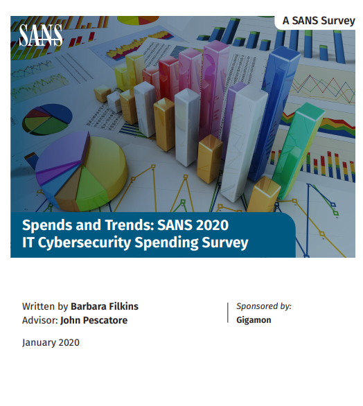 SANS 2020 IT Cybersecurity Spending Survey