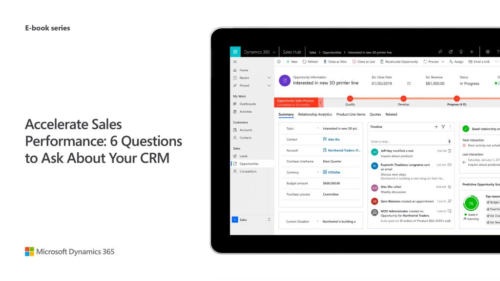 Accelerate Sales Performance: 6 Questions to Ask About Your CRM