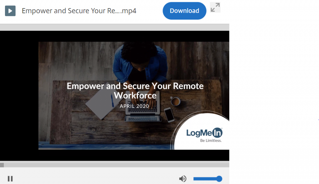 On-Demand Webinar: Empower and Secure your Remote Workforce