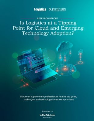 Is Logistics at a Tipping Point for Cloud and Emerging Technology Adoption?