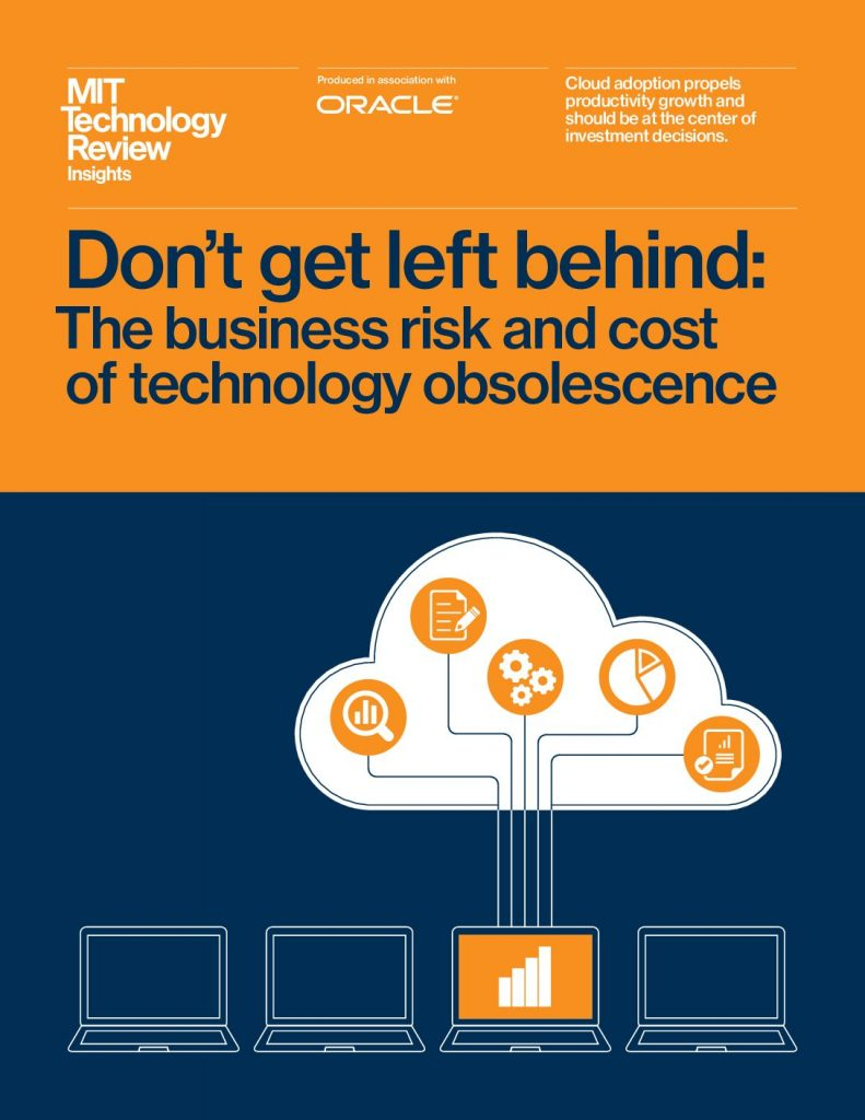 MIT Report: The Business Risk and Cost of Technology Obsolescence