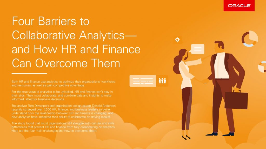 Four Barriers to Collaborative Analytics—and How HR and Finance Can Overcome Them