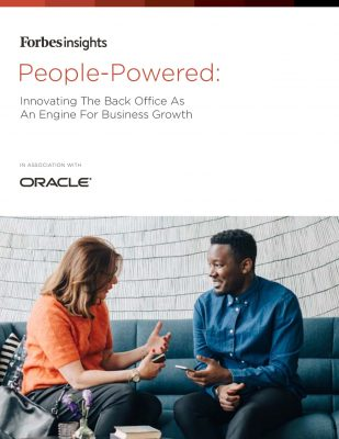 People-Powered: Innovating The Back Office  As An Engine for Business Growth