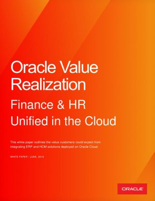 HCM Cloud/ERP Cloud Benchmark Report