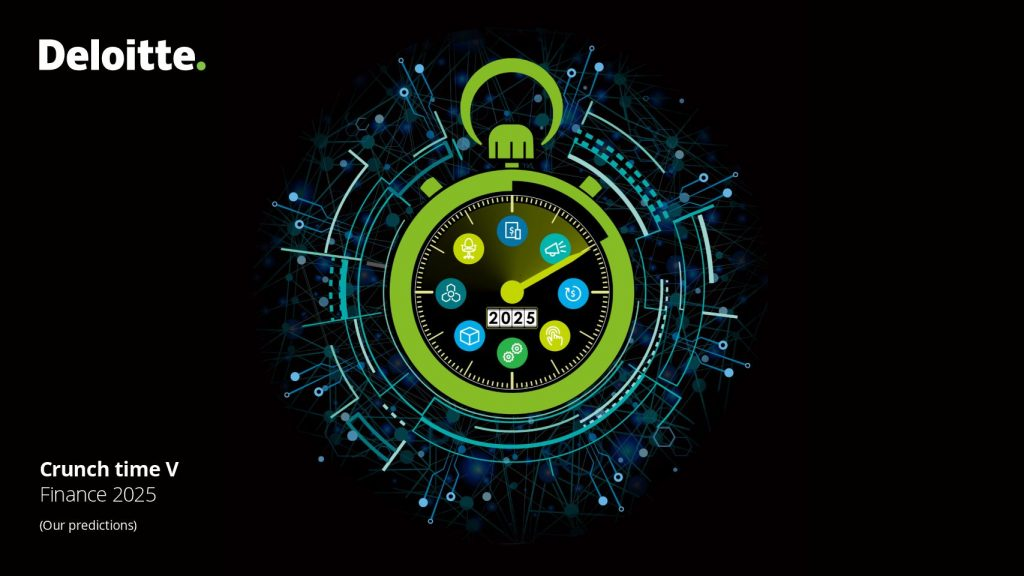 "Deloitte – ""Crunch Time"" Finance 2025 ebook with Oracle Forward"