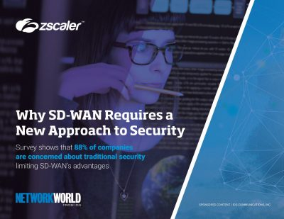 Why SD-WAN Requires a New Approach to Security