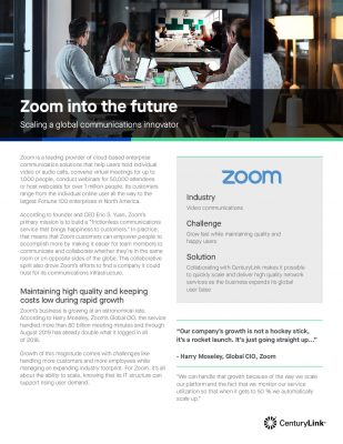 Zoom into the future with a global partner