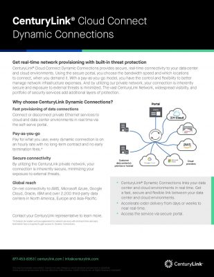 Up Your Game with CenturyLink Dynamic Connections
