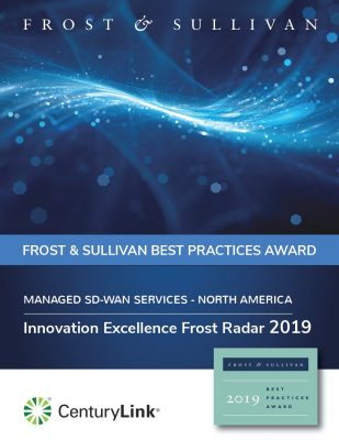 Frost Radar® Award for SD-WAN Innovation