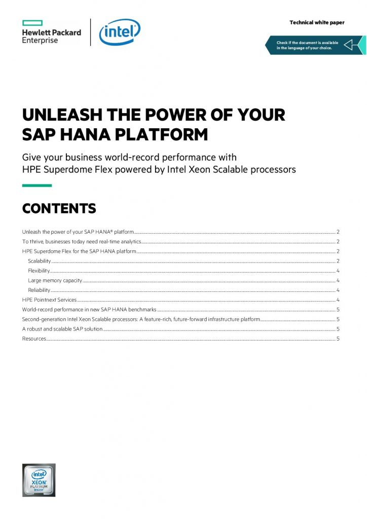 Unleash the Power of Your Data to Transform Your Business