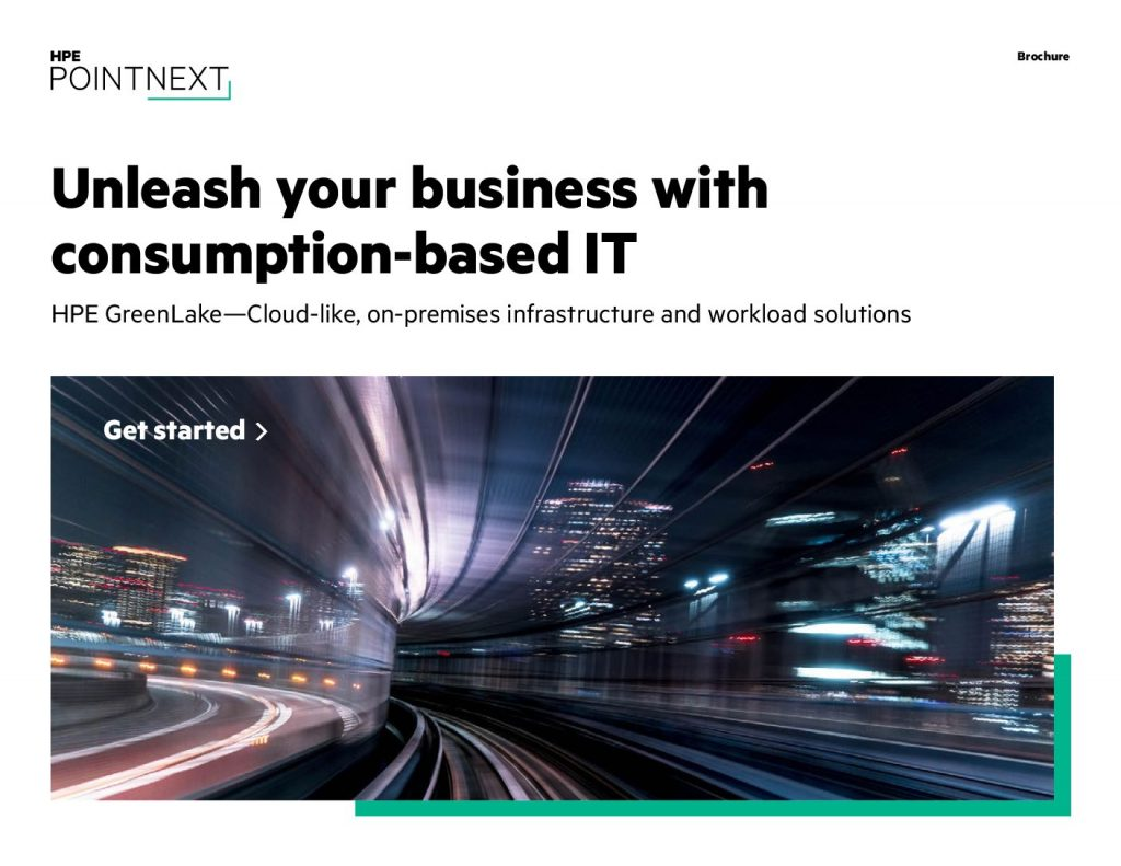 Better Business Outcomes With Consumption-Based IT