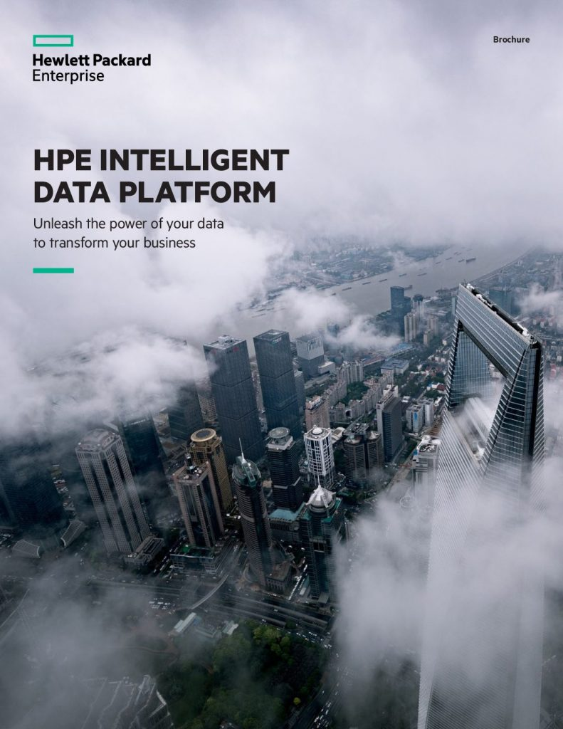 Clear Data Hurdles with the HPE Intelligent Data Platform