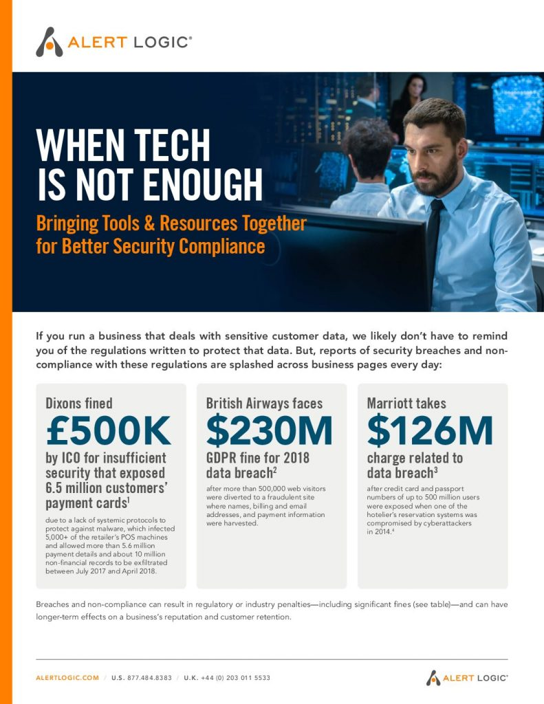 When Tech is Not Enough: Bringing Tools & Resources Together for Better Security Compliance