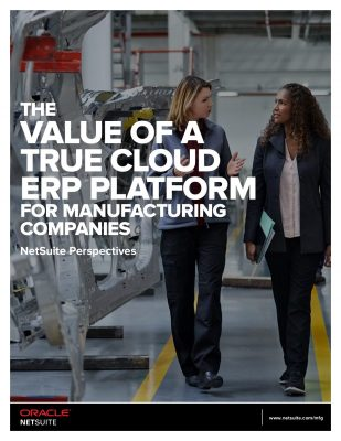 The Value of a True Cloud ERP Platform for Food and Beverage Companies