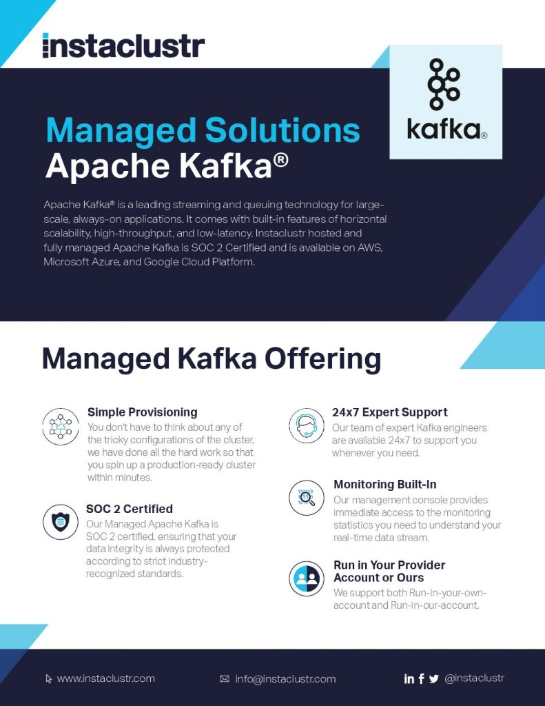 Managed Solutions Apache Kafka®