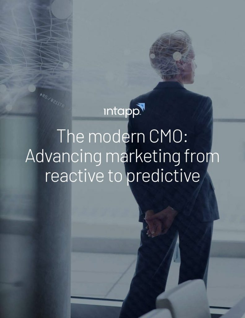 The Modern CMO: Advancing Marketing From Reactive to Predictive