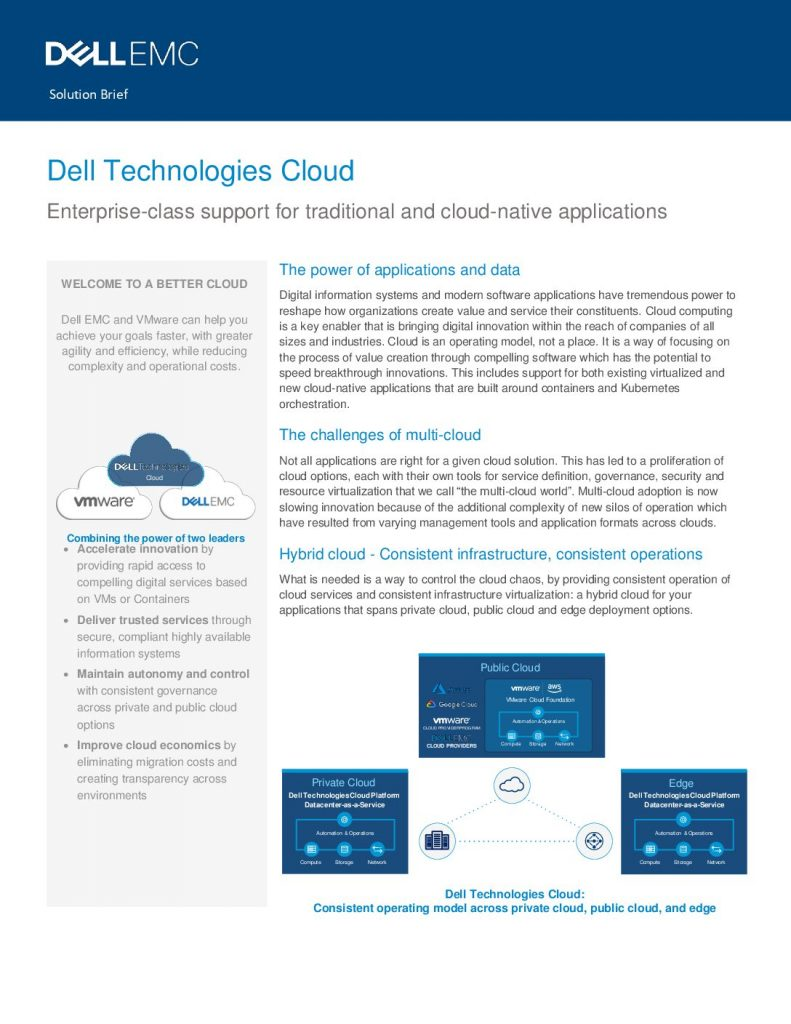 Solving the Cloud Complexity Program—Manufacturing