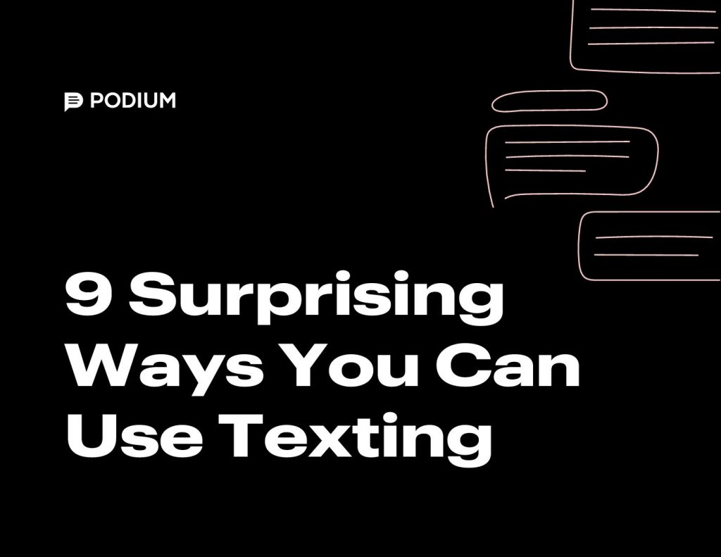 9 Surprising Ways You Can Use Texting