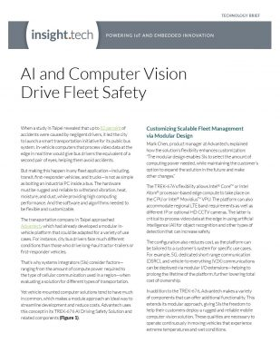 AI and Computer Vision Drive Fleet Safety