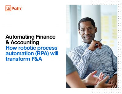 How robotic process automation (RPA) will transform F and A
