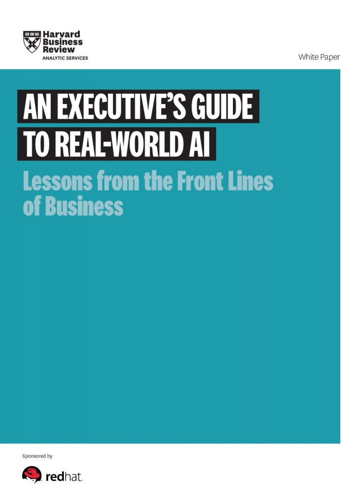 An Executive's Guide To Real-World AI Lessons from the Front Lines of Business
