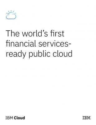 IBM Cloud for Financial Services Whitepaper