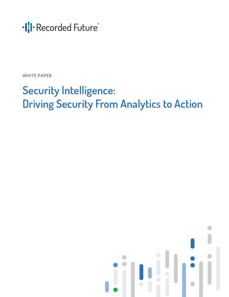 The Security Intelligence White Paper