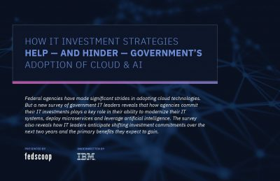 How IT Investments Help and Hinder Government's Adoption of Cloud  and  AI