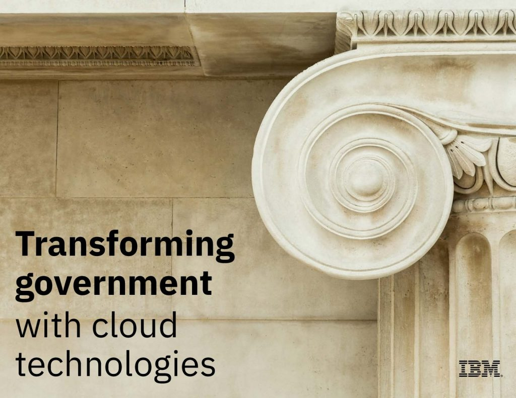 Transforming Government with Cloud Technologies