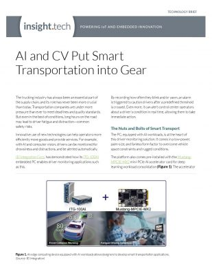 AI and CV Put Smart Transportation into Gear