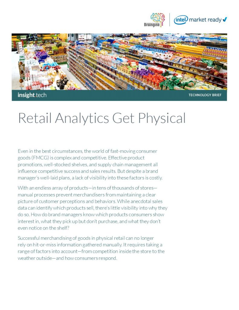 Retail Analytics Get Physical