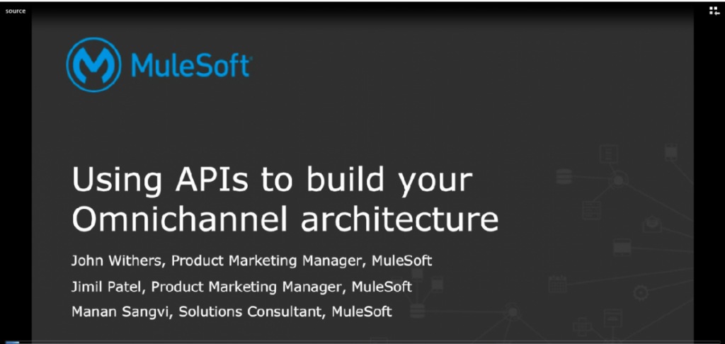 Using APIs to build your omnichannel architecture