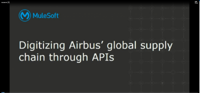 Digitizing Airbus' global supply chain through APIs
