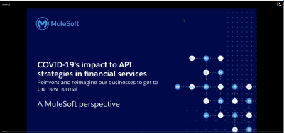 COVID-19's impact to API strategies in financial services