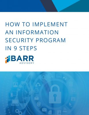 Guide to Implementing an Information Security Program