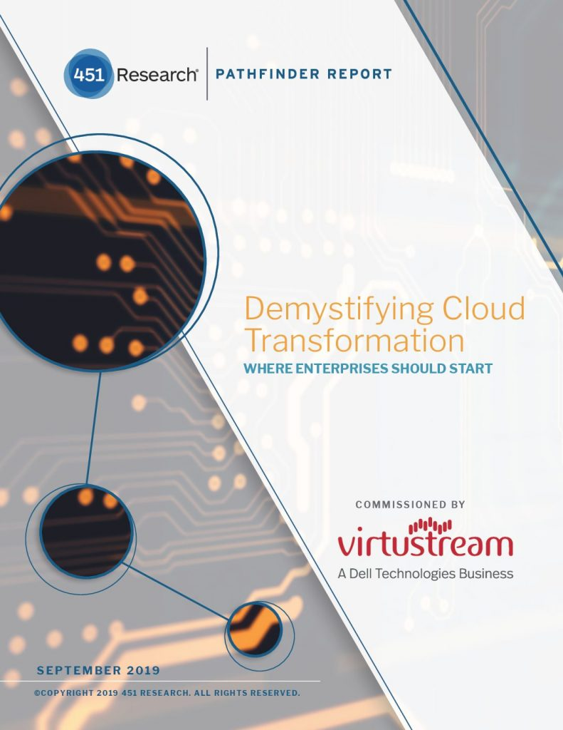 451 Research Pathfinder: Cloud Transformation