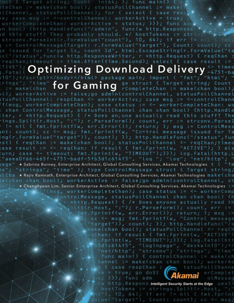 Optimizing Download Delivery for Gaming