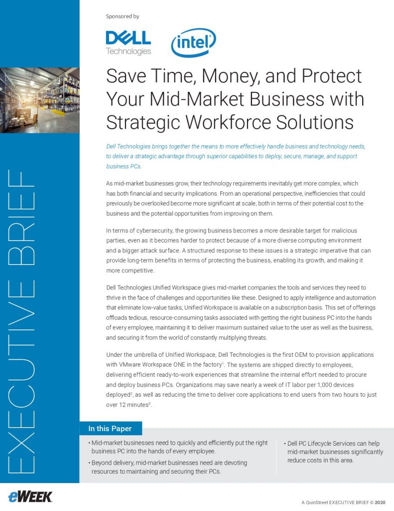 Save Time, Money and Protect your Mid-Market Business with Strategic Workforce Solutions