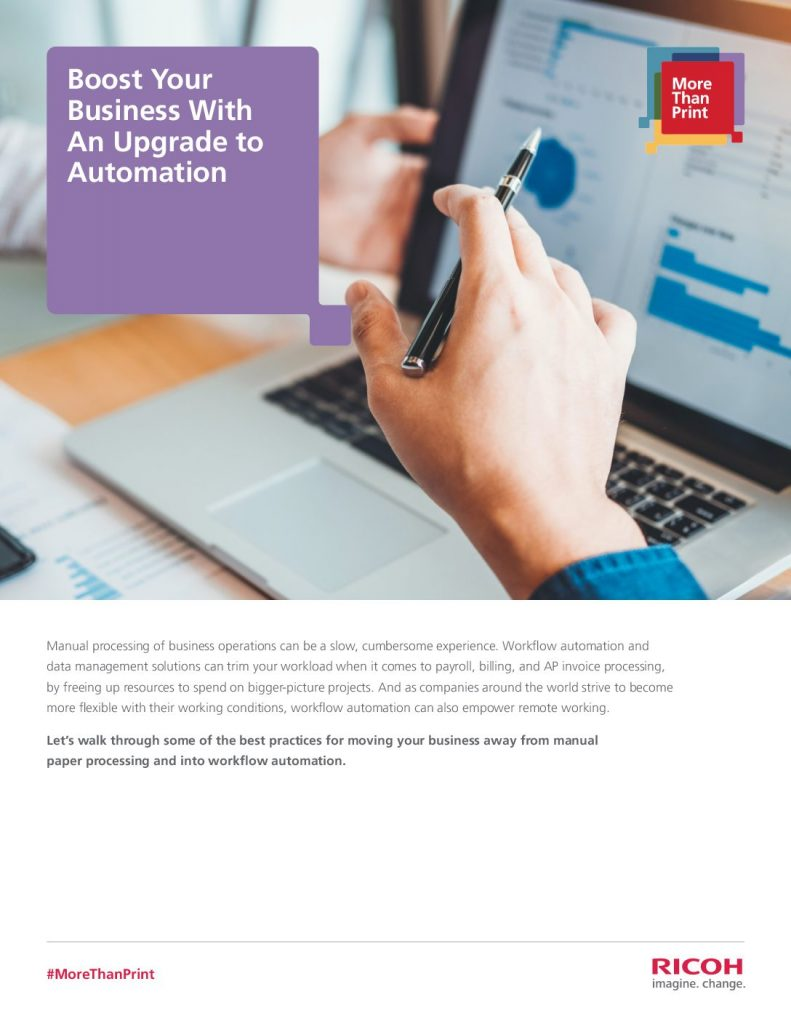 Boost Your Business With An Upgrade to Automation