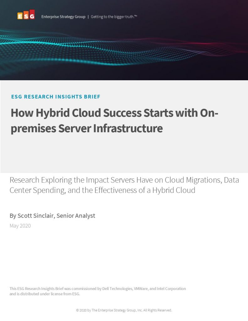 How Hybrid Cloud Success Starts with On-premises Server Infrastructure