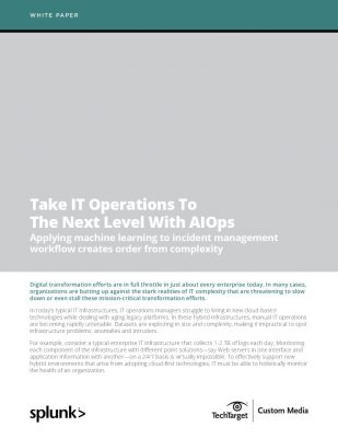 Take IT Operations To The Next Level With AIOps